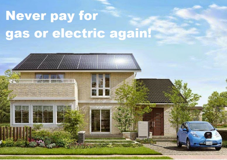 Never pay for gas or electric again!